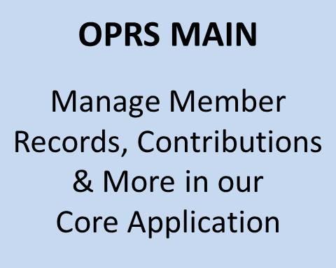 OPRS Main Program