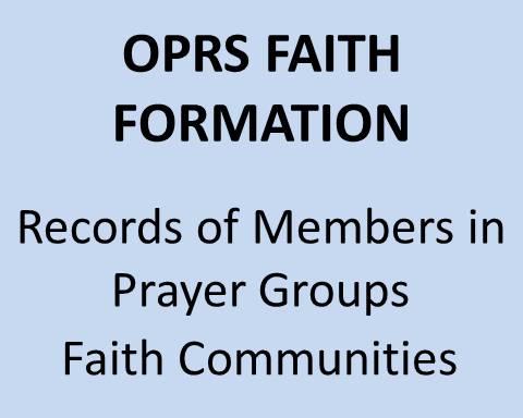 OPRS Faith Formation