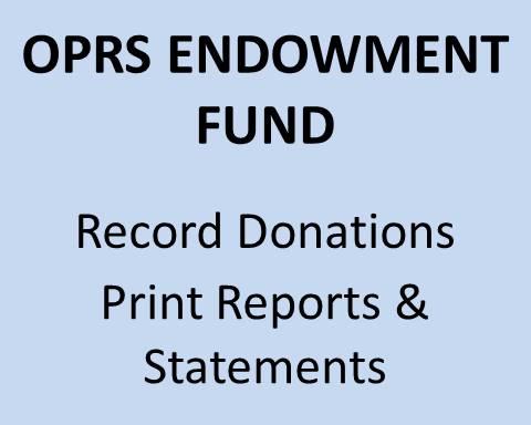 OPRS Endowment Fund
