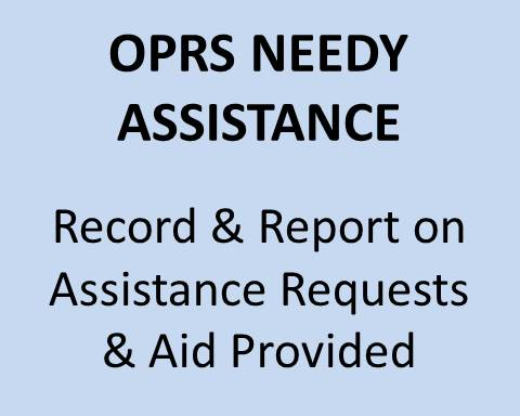 OPRS Needy Assistance