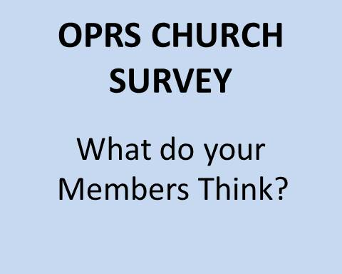 OPRS Church Survey